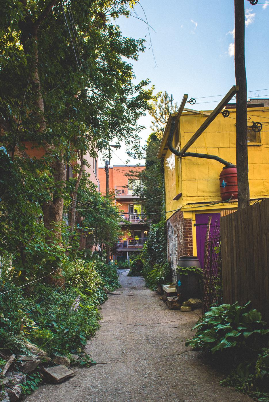 Ruelle de Montréal