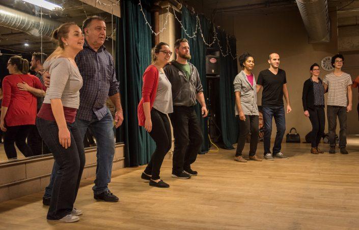 Photos de la Classe de Swing durant la semaine portes ouvertes - Janvier 2017